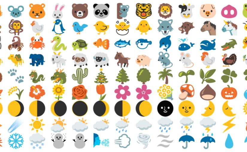 Цветные emoji в Google Chrome на Ubuntu